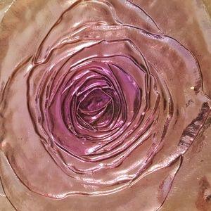 Rose Platter/Cake Stand